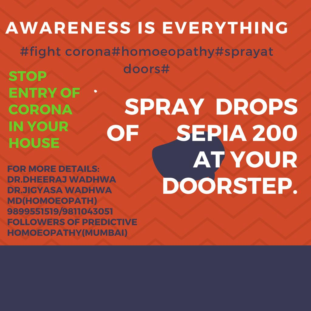 STOP ENTRY OF CORONA IN YOUR HOUSE!!!